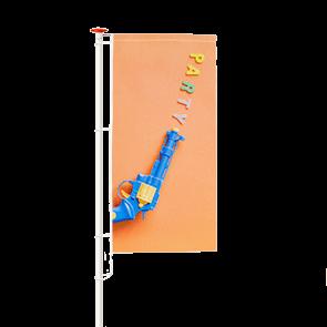 Banieren bedrukken (eigen formaat)