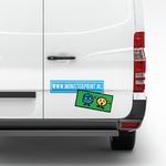 Auto stickers maken bumper