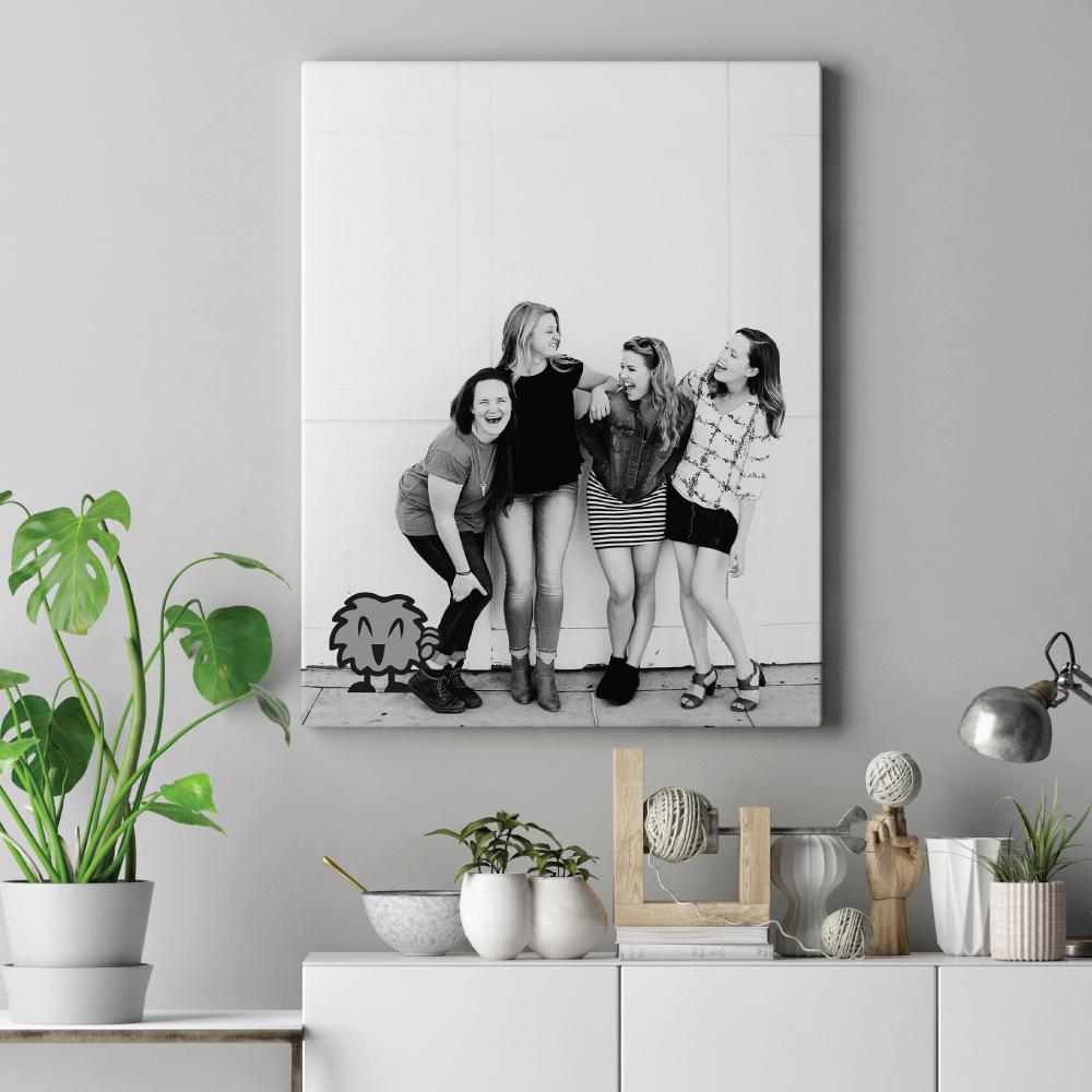 Foto op canvas muur
