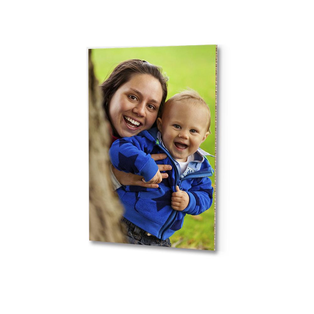 Foto op karton baby