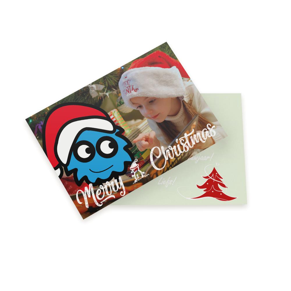 Ansichtkaart maken kerst